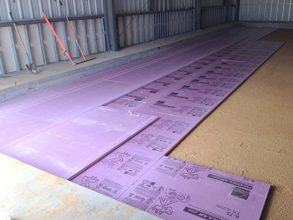floor sand layer2 july2014